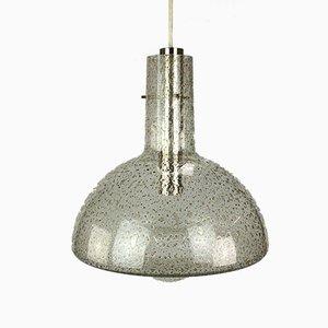 Lampe à Suspension Space Age en Verre de Temde, 1960s