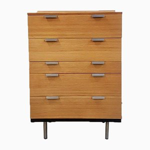 Mid-Century Fineline Chest of Drawers Tallboy by John & Sylvia Reid for Stag