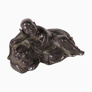Statuetta Pindola in bronzo