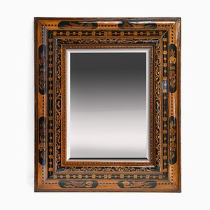 18th Century Inlaid Mirror