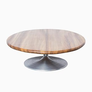 Zebrano Oval Coffee Table from CAR Katwijk