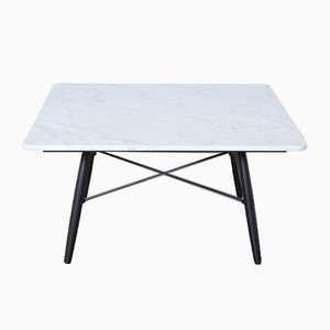 Coffee Table in Carrara Marble by Charles & Ray Eames for Vitra