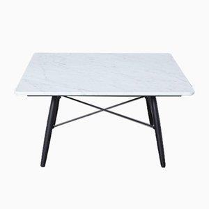 Table Basse en Marbre de Carrare par Charles & Ray Eames pour Vitra