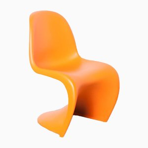 Orange Panton Chair by Verner for Vitra