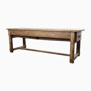 19th Century Original French Farmhouse Rectangular Dining Table