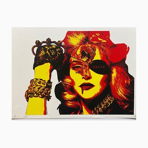 Death NYC, Madonna Jewelry, 2016, Silkscreen Print
