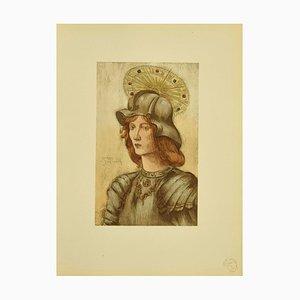 Jeanne Jacquemin - Saint George - Original Litograph - 1898