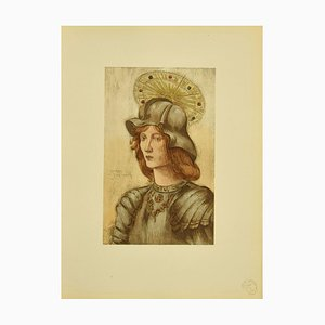 Jeanne Jacquemin - Saint George - Original Litopgraph - 1898