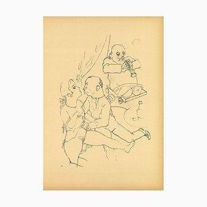 George Grosz - Serenade by George Grosz - 1923