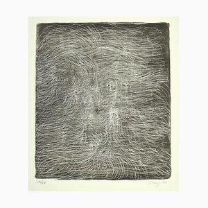 Mark Tobey - Untitled - Original Lithograph by Mark Tobey - 1970