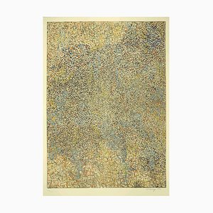 Mark Tobey - Abstract Composition - Original Lithograph by Mark Tobey - 1971