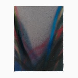 Peinture Claudio Olivieri - Untitled - Original Acrylic Painting - 1988