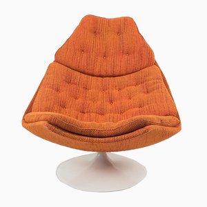Sessel Modell F590 aus Terra-Stoff von Geoffrey Harcourt für Artifort, 1970, 2er-Set