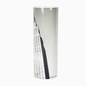 Empire State Building in New York Vase Cylinder by Andy Warhol by Rosenthal