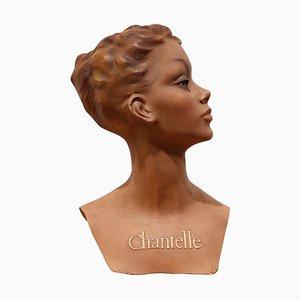 Vintage Chantelle Advertising Bust