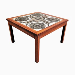 Vintage Ceramic Coffee Table by Ox Art, 1977