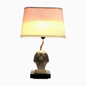 Hollywood Regency Belgian Pharaoh Table Lamp, 1970s