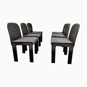 Model 121 Dining Chairs by Tobia Scarpa, Set of 6, 1970s