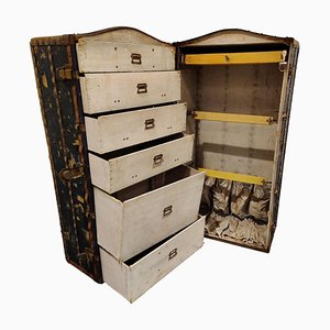 Antique Steamer Trunk from Innovation, 1930s