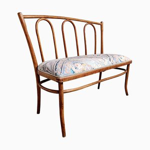 Antique Bentwood Bench, 1930s