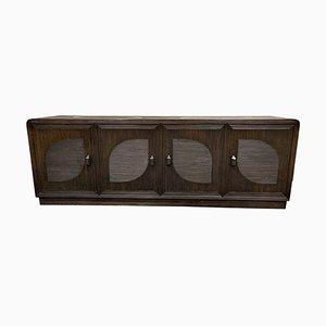 Vintage Sideboard aus Rattan & Bambus, 1970er