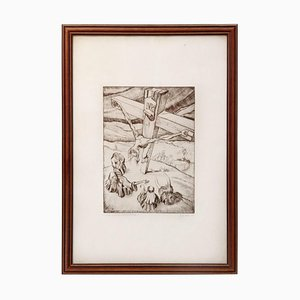 Michele Spotorno, Artist Proof, Etching