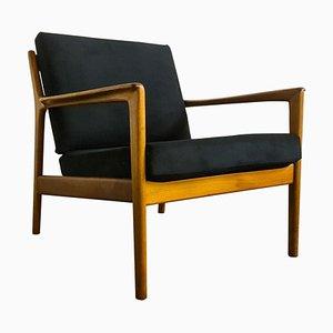 Mid-Century Nussholz USA 75 Sessel von Folke Ohlsson für Dux, Schweden
