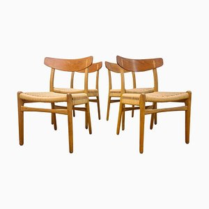 CH-23 Chairs by Hans J. Wegner for Carl Hansen & Son, Denmark, 1950s, Set of 4