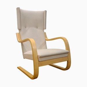 401 Wingback Chair by Alvar Aalto for Artek, Finland, 1970