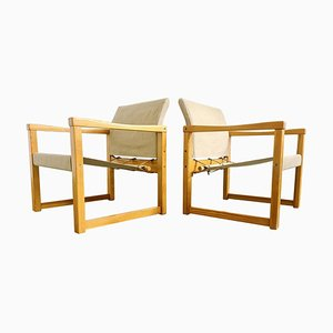 Armchairs Model Diana by Karin Mobring for Ikea, Sweden, 1970s, Set of 2