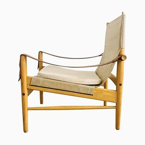 Mid-Century Antilope Safari Lounge Chair by Hans Olsen, 1960s