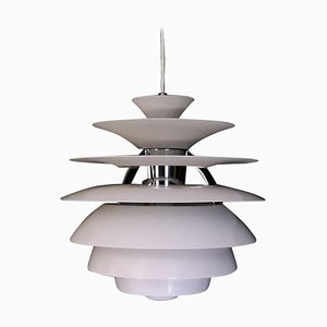 Scandinavian Modern PH Snowball Pendant Light by Poul Henningsen