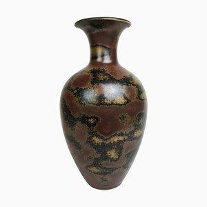 Vaso da terra Mid-Century in ceramica di Gunnar Nylund AKT per Rörstrand, Svezia