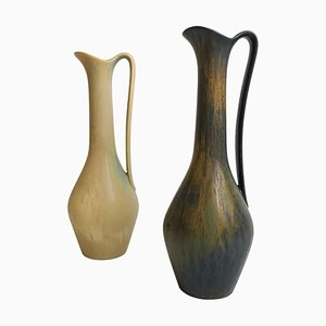 Ceramic Vases by Gunnar Nylund for Rörstrand, Sweden, Set of 2