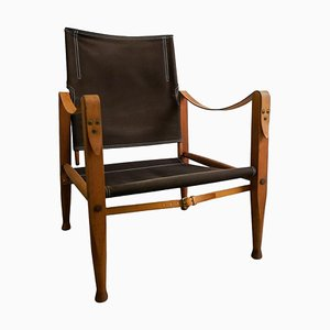 Mid-Century Safari Chair by Kaare Klint for Rud Rasmussen