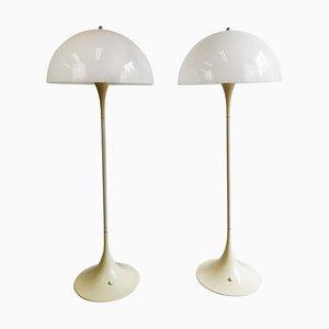 Scandinavian Modern Panthella Floor Lamp by Verner Panton, Denmark