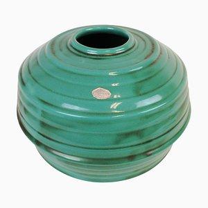 Art Deco Keramik Schale oder Vase von Ekeby, Schweden, 1930er