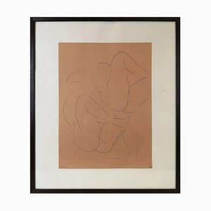 Lithograph after a Drawing by Marino Marini