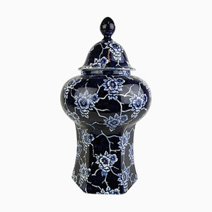 Große Art Nouveau Vase von Rörstrand Sweden