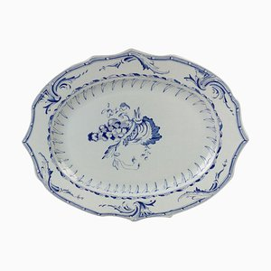Large Serving Plate with 1700s Pattern from Rörstrand