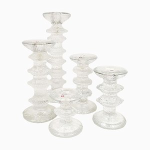 Festivo Candlesticks by Timo Sarpaneva for Iittala, Set of 5