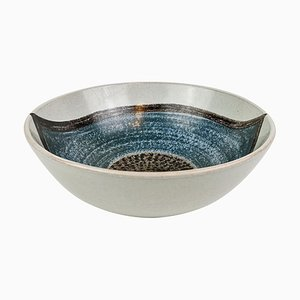 Ceramic Bowl by Carl-Harry Stålhane and Aune Laukkanen for Rörstrand, Sweden
