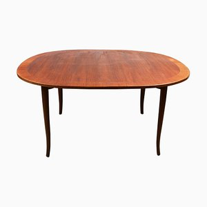 Mid-Century Ovalen Teak Coffee Table by Carl Malmsten, Sweden