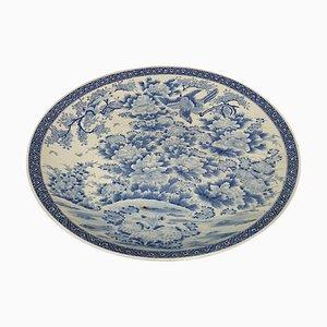 Antique Japanese Arita Porcelain Plate