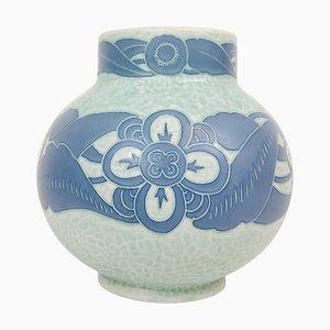Art Deco Sgraffito Vase by Josef Ekberg for Gustavsberg, Sweden, 1922