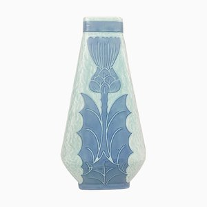 Art Deco Sgraffito Vase by Josef Ekberg for Gustavsberg, Sweden
