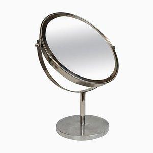 Specchio da tavolo Mid-Century cromato di Hans-Agne Jakobsson, Svezia