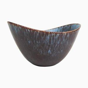 Large Ceramic Bowl Rörstrandsgatan Model AXK by Gunnar Nylund, Sweden, 1950s