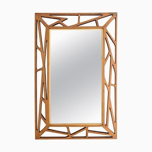 Mid-Century Konkret Mirror by Yngve Ekström for Eden Mirror, Sweden