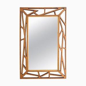 Mid-Century Konkret Spiegel von Yngve Ekström für Eden Mirror, Schweden